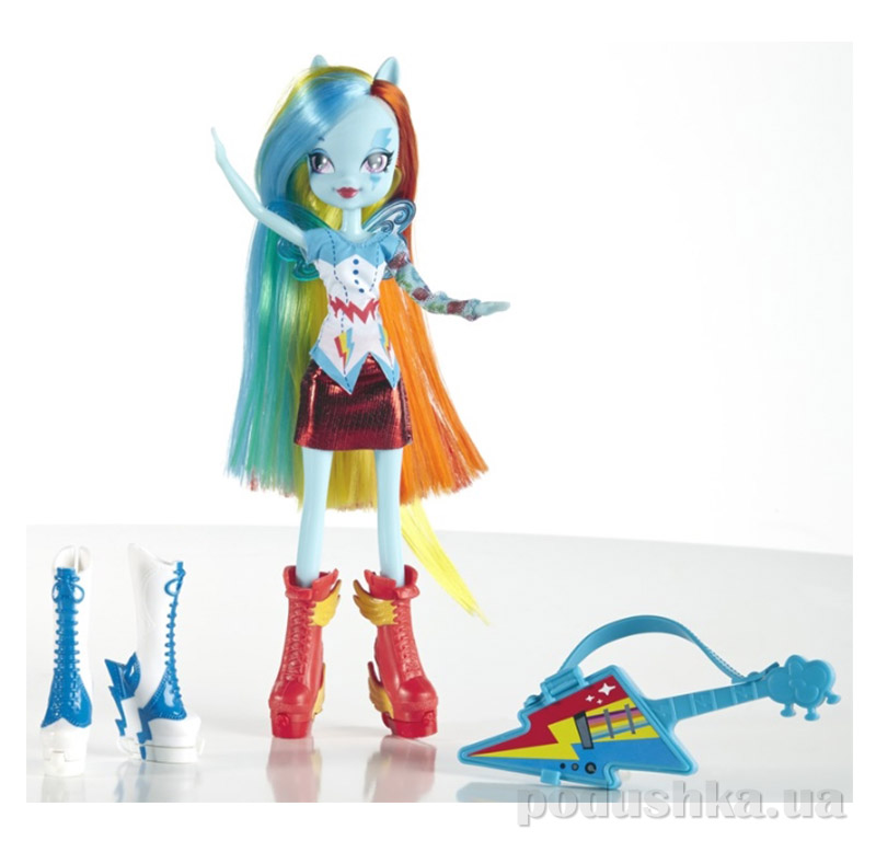 Кукла MLP EG Радуга с аксессуарами Hasbro AKT-A7250