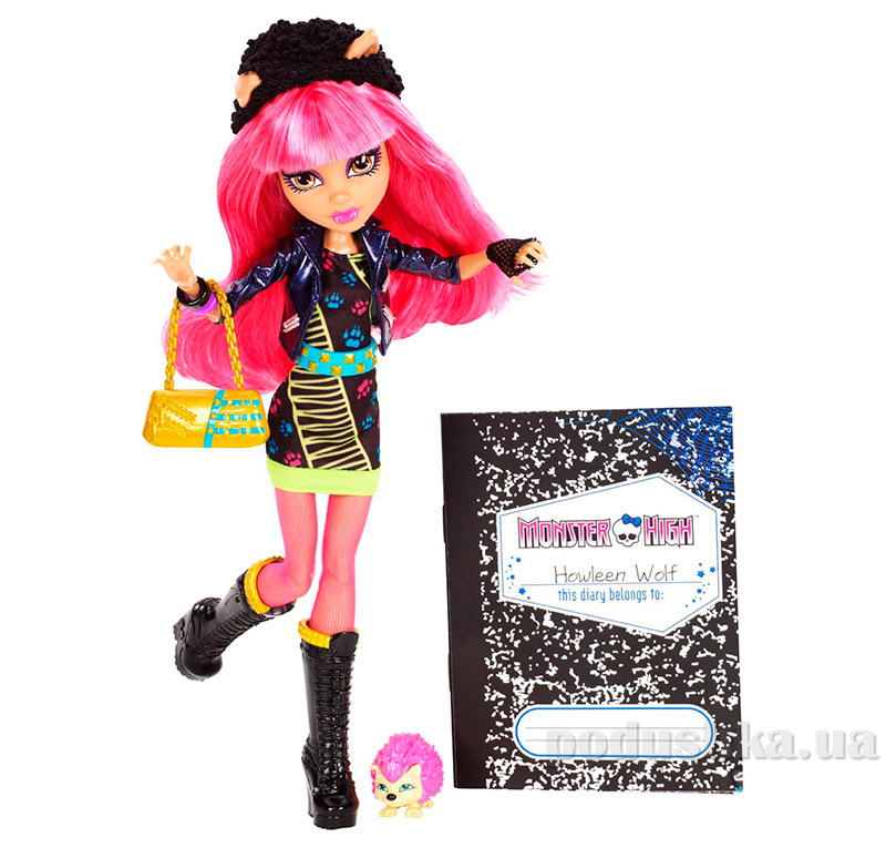 Кукла Monster High 13 Wishes 13 Желаний Howleen Wolf Хоулин Вульф Mattel