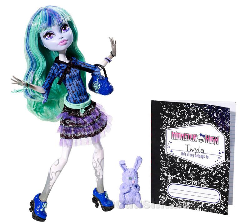 Кукла Monster High 13 wishes 13 желаний Twyla Твайла Mattel