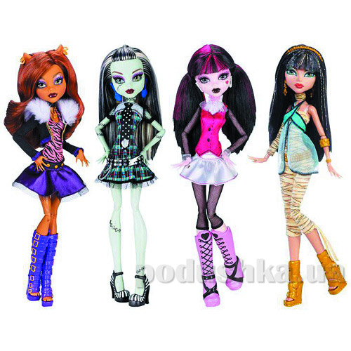 Кукла Monster High Монстро-классика в ассортименте CFC60
