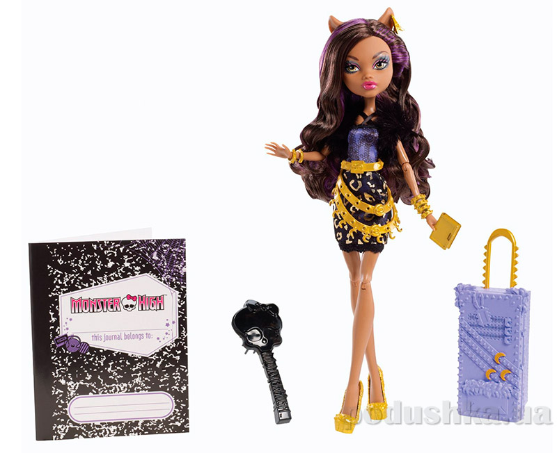 Кукла Monster High Scaris the city of frights Clawdeen Wolf Клодин Вульф Mattel