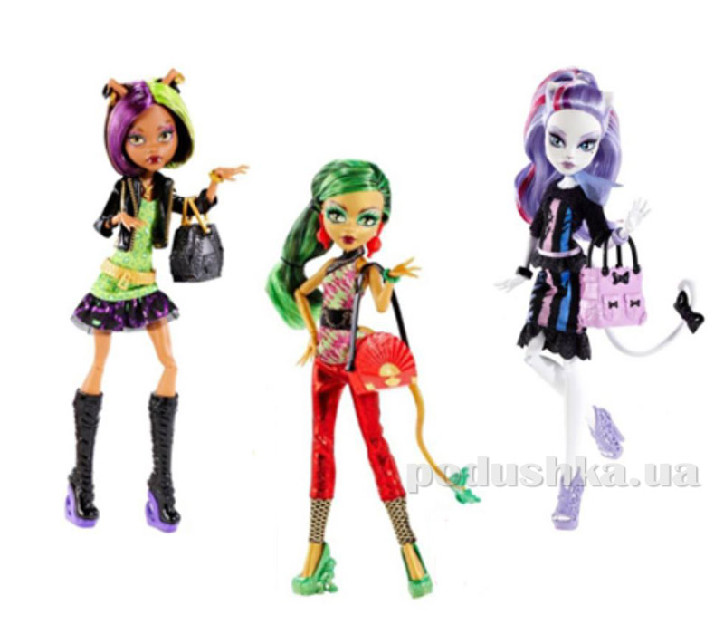 Кукла Monster High серии Новый страхоместр