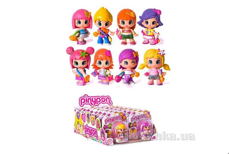 Кукла Пинипон 7 см с малиновыми волосами 700008131-8 Pinypon