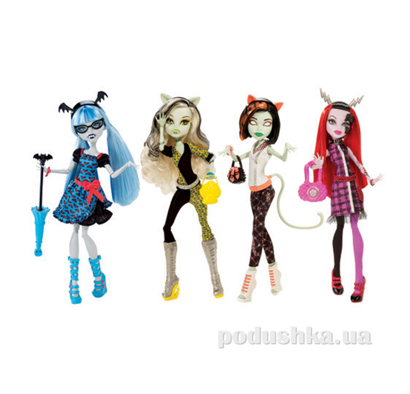 Кукла Причудливый маскарад из серии Причудливая смесь в ассортименте 4 шт. Monster High CBP34