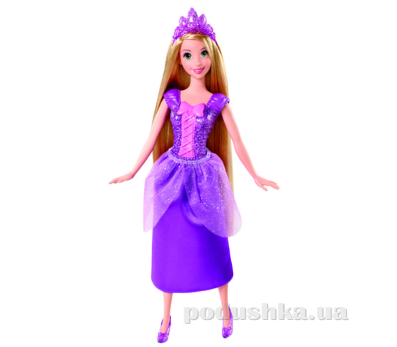 Кукла Рапунцель Сияющая принцеса Barbiе