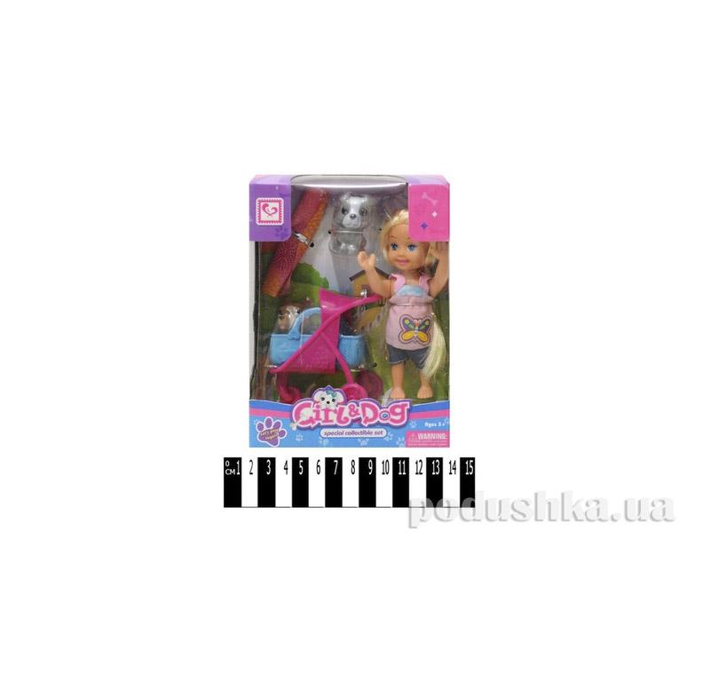 Кукла с корзинкой и аксессуарами Jambo К899-19