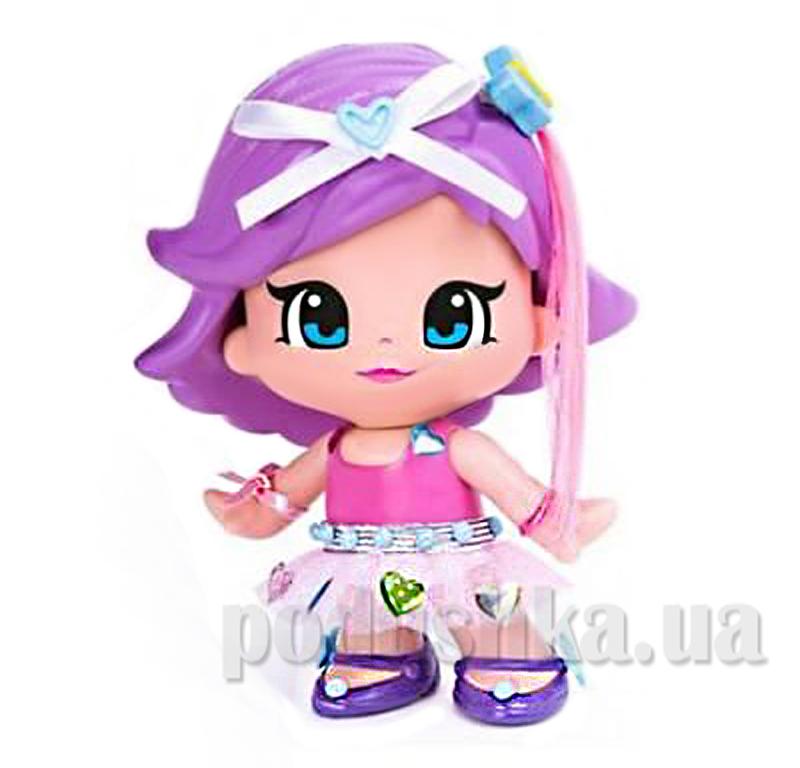 Кукла с набором аксессуаров Pinypon 700008153-2 фиолетовые волосы