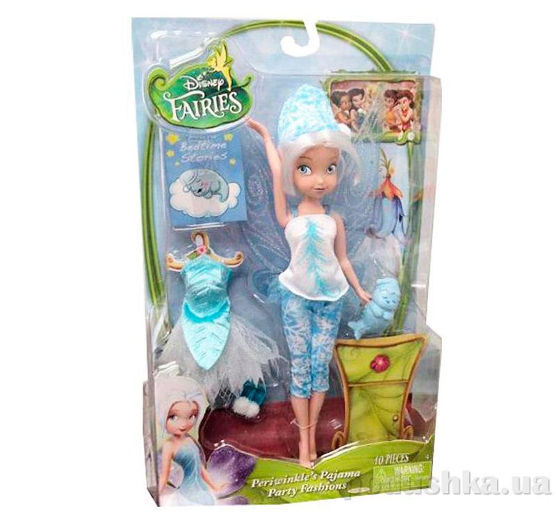 Кукла серия фея Перивинкл 23 см Пижамная вечеринка 49849 Fairies Jakks