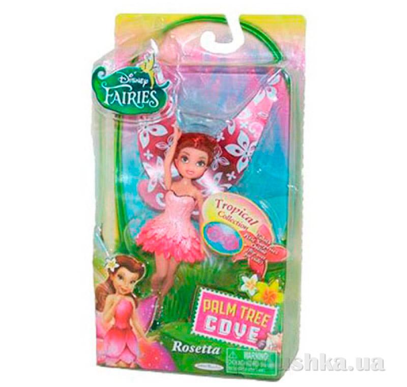 Кукла серия фея Розетта 11 см Тропическая коллекция 49140 Fairies Jakks