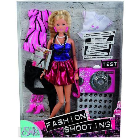 Кукла Штеффи Фотомодель с камерой для девочки Steffi Evi Love 5730784