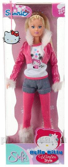 Кукла Штеффи Hello Kitty Стильная зима Steffi Evi Love 5739340