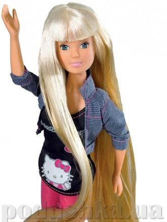 Кукла Штеффи Нello Kitty с длинными волосами и аксессуарами Steffi Evi Love 5730839
