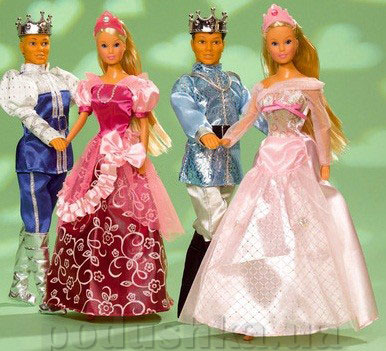 Кукла Штеффи Принцесса с Принцем Steffi Evi Love 5735456