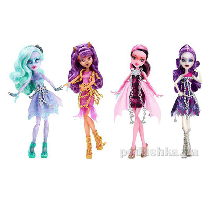 Кукла Становится привидением из м/ф Призраки в ассортименте Monster High CDC29