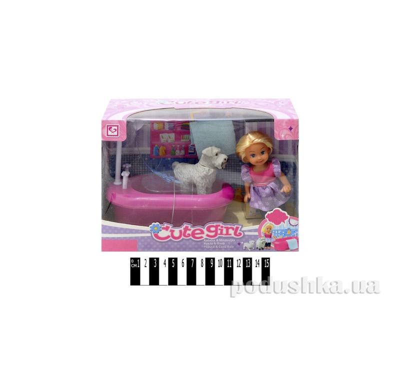 Кукла в ванной комнате Jambo К899-16