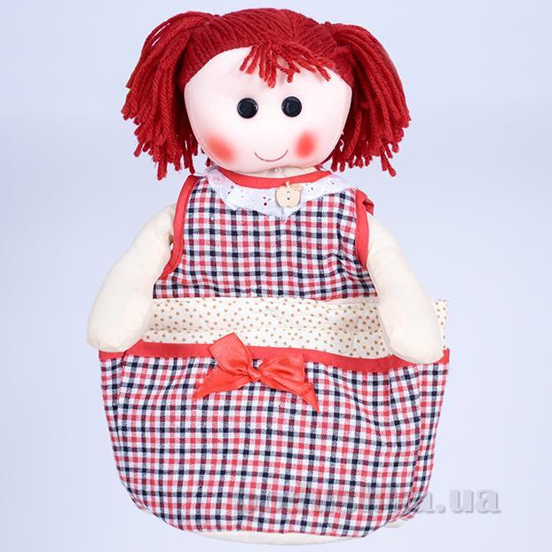Кукла-органайзер ТМ Копица 24792 бордовая