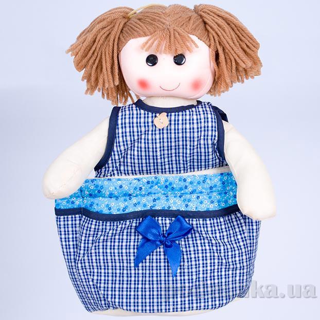 Кукла-органайзер ТМ Копица 24792 синяя