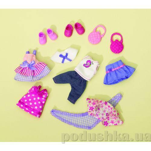 Кукольная одежда Эви Модная девочка с аксессуарами Steffi Evi Love 5721057