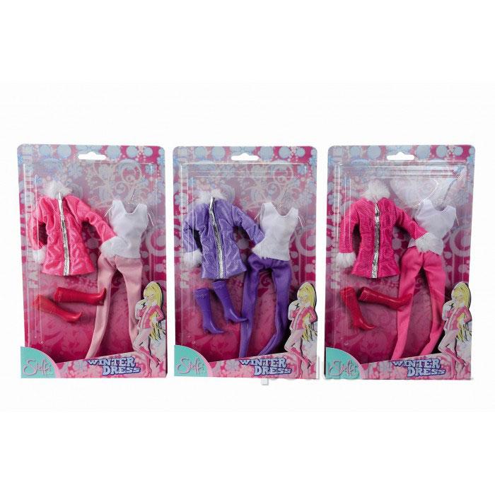 Кукольная одежда Штеффи Стильная зима 3 вида Steffi Evi Love 5728534