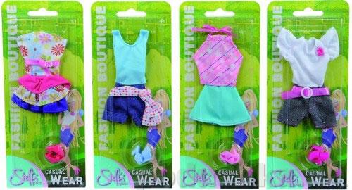 Кукольная одежда Штеффи Яркий отдых Steffi Evi Love 4 вида 572 0869