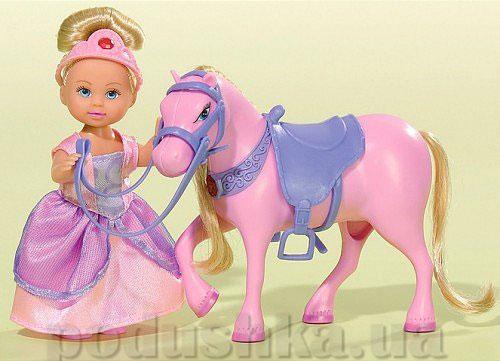 Кукольный набор Эви Принцесса и сказочный конь со звуковыми и световыми эффектами  Steffi Evi Love 5731159