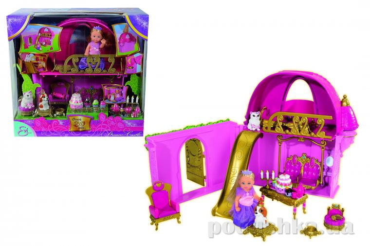 Кукольный набор Эви Замок грез Steffi Evi Love 5737146