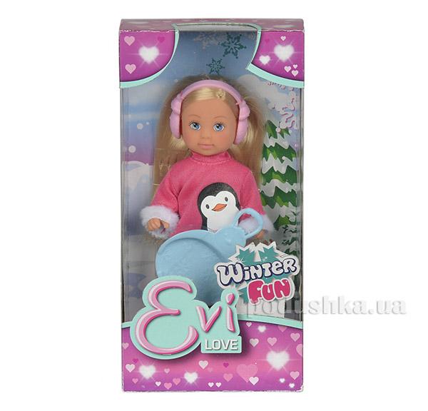 Кукольный набор Эви Зимние развлечения Steffi & Evi Love 5737109   Steffi Evi Love