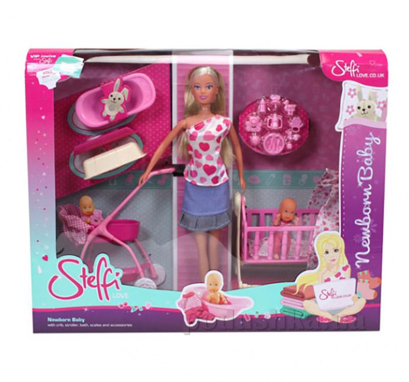 Кукольный набор Штеффи с младенцем Steffi Evi Love 5730861