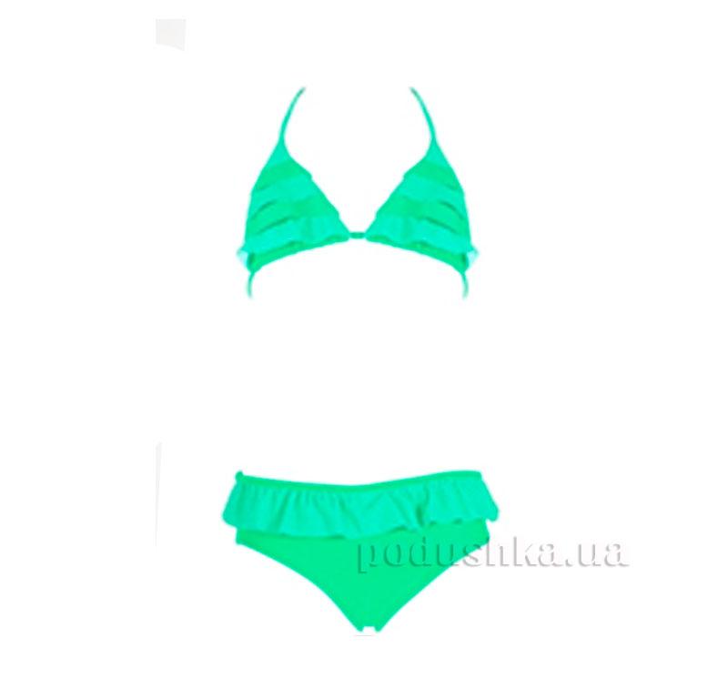 Купальник двухкомпонентный Paula Esli зеленый