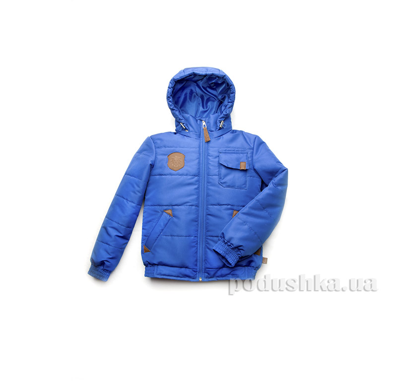 Куртка демисезонная для мальчика Модный карапуз 03-00641 Синий