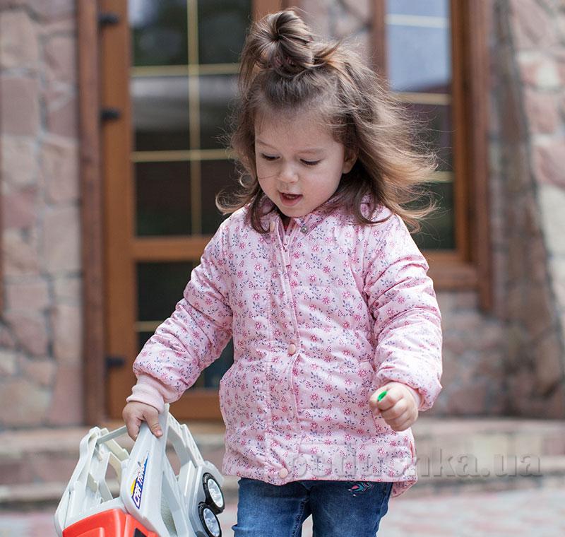 Куртка для девочки Bembi КТ165 плащевка с утеплителем