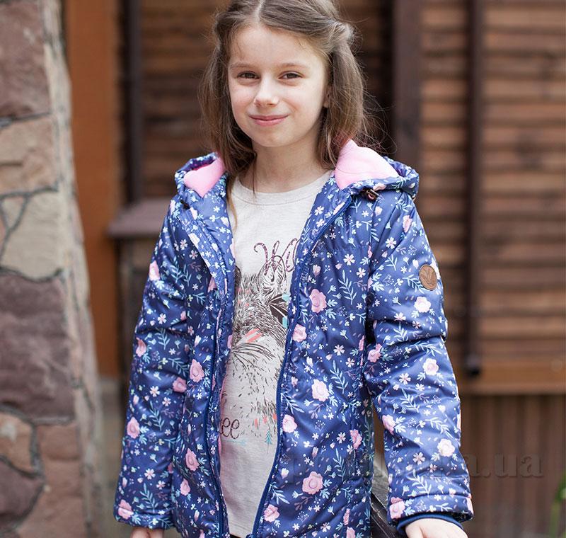 Куртка для девочки Bembi КТ166 плащевка с утеплителем