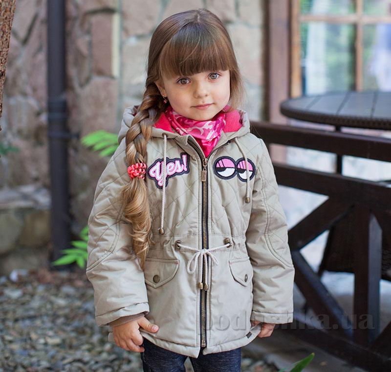 Куртка для девочки Bembi КТ167 плащевка с утеплителем