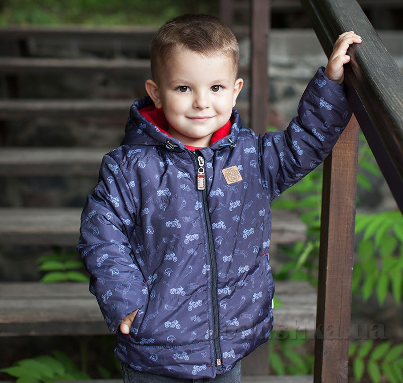 Куртка для мальчика Bembi КТ169 плащевка с утеплителем