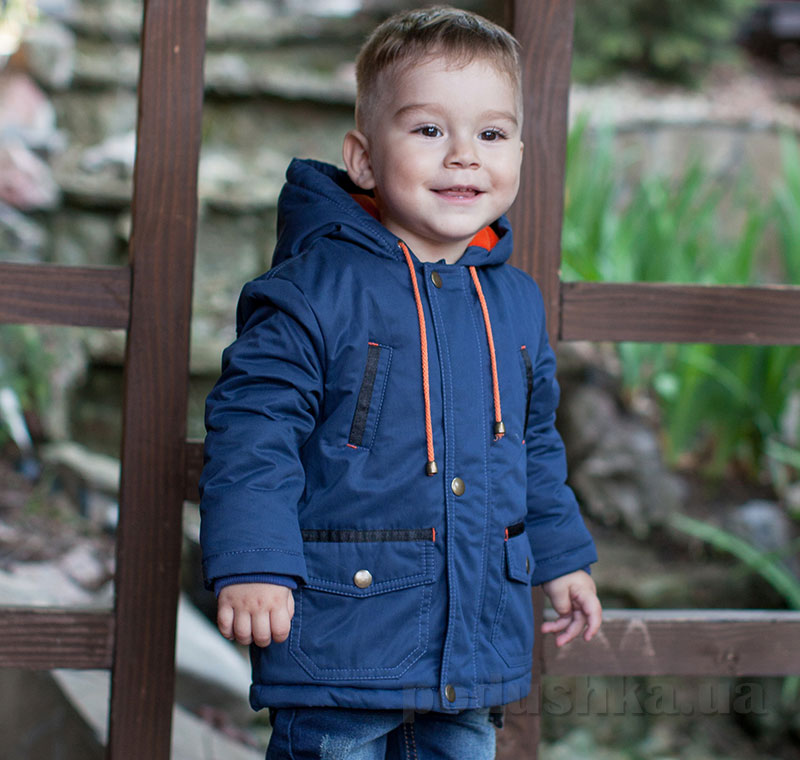 Куртка для мальчика Bembi КТ171 плащевка с утеплителем