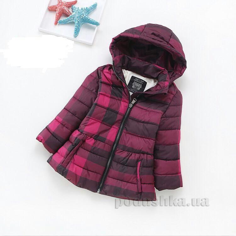 Куртка утепленная для девочки IMCCE kids 867 бордо