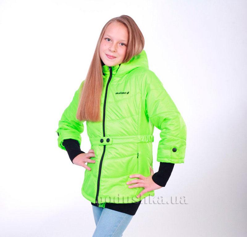 Курточка для девочки Димакс КуМ КуД 95 салатовая