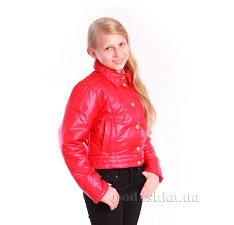 Курточка-трансформер для девочки Димакс КуД 53 красная