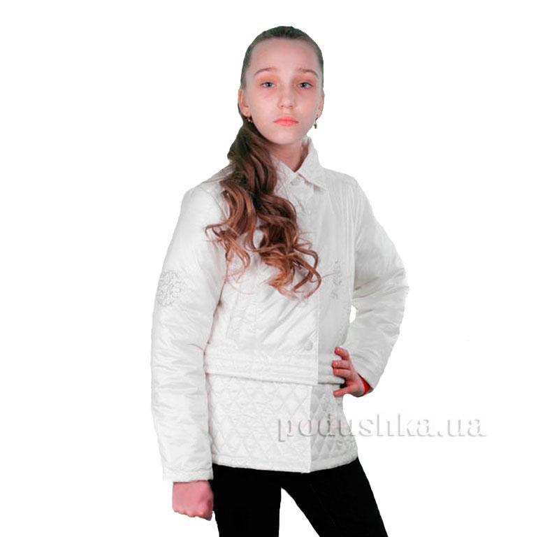 Курточка-трансформер для девочки Димакс КуД 53 молочная