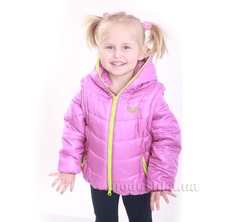 Курточка-жилет для девочки Димакс КуД 90 фуксия