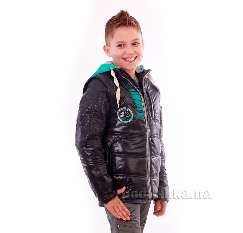 Курточка-жилет для мальчика Димакс КуМ 105 серая