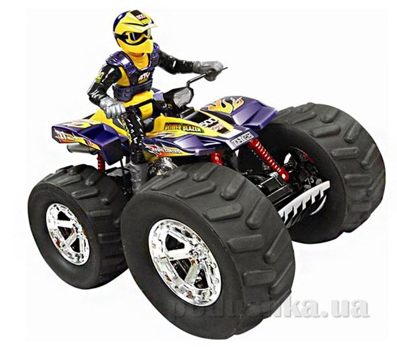 Квадроцикл на радиоуправлении Monster ATV с гонщиком Ez-Tec
