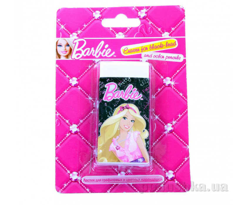 Ластик для графитовых и цветных карандашей Barbie BRAB-US1-215-BL1