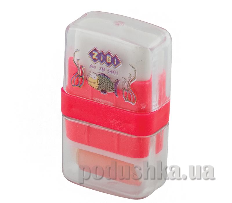 Ластик в пластиковом футляре с валиком ZiBi ZB.5401