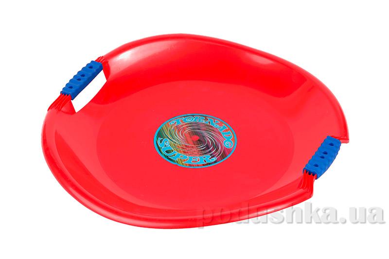 Ледянка Plast Kon Tornado Super красная SAN-01-18