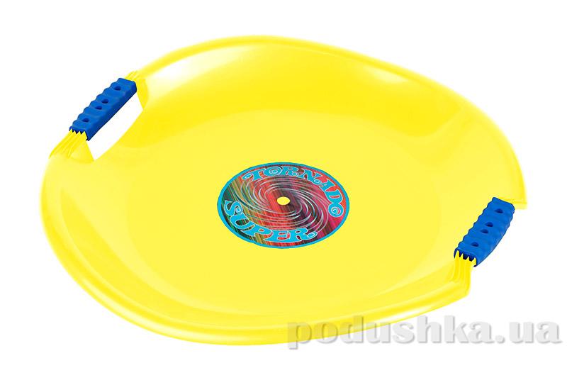 Ледянка Plast Kon Tornado Super желтая SAN-01-30
