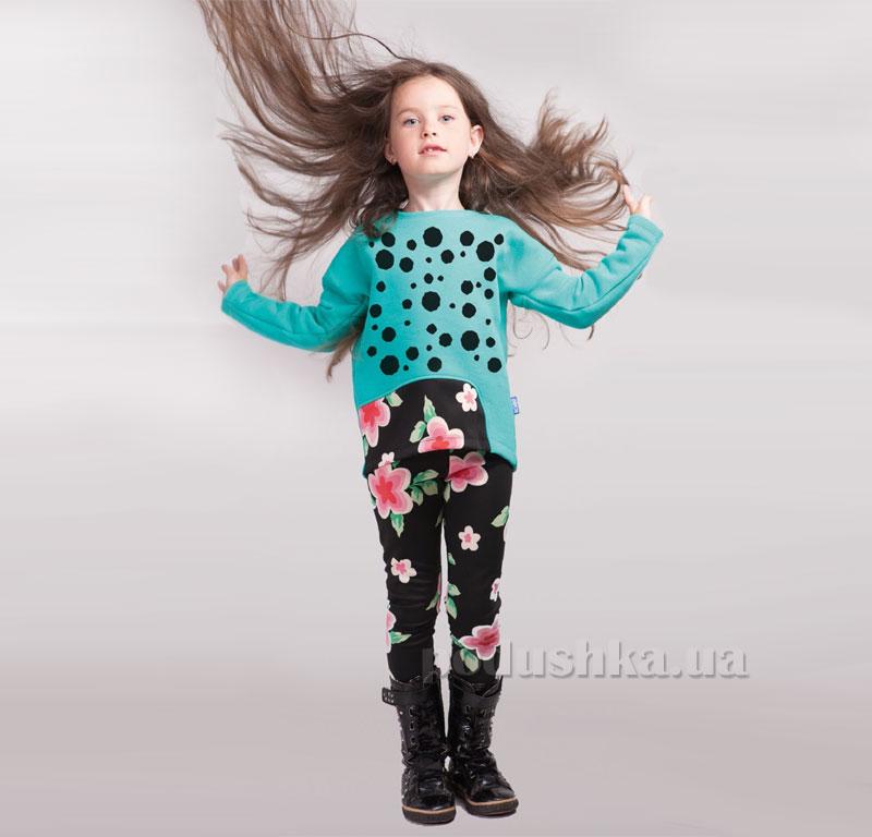 Леггинсы для девочки Цветы Овен 16Ш1-260-2