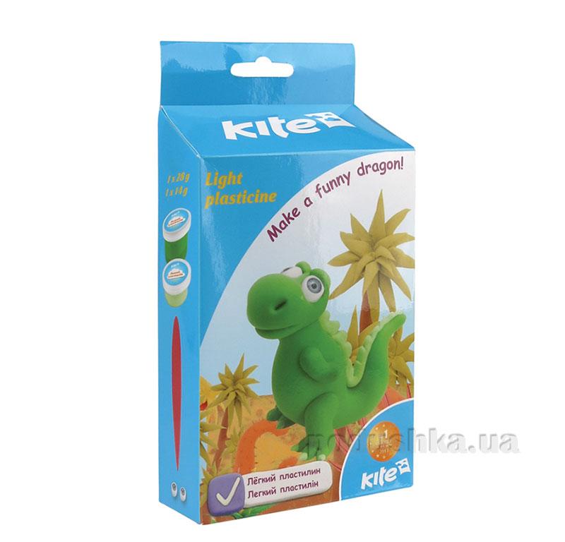 Легкий пластилин Kite Дракон K15-278-5К