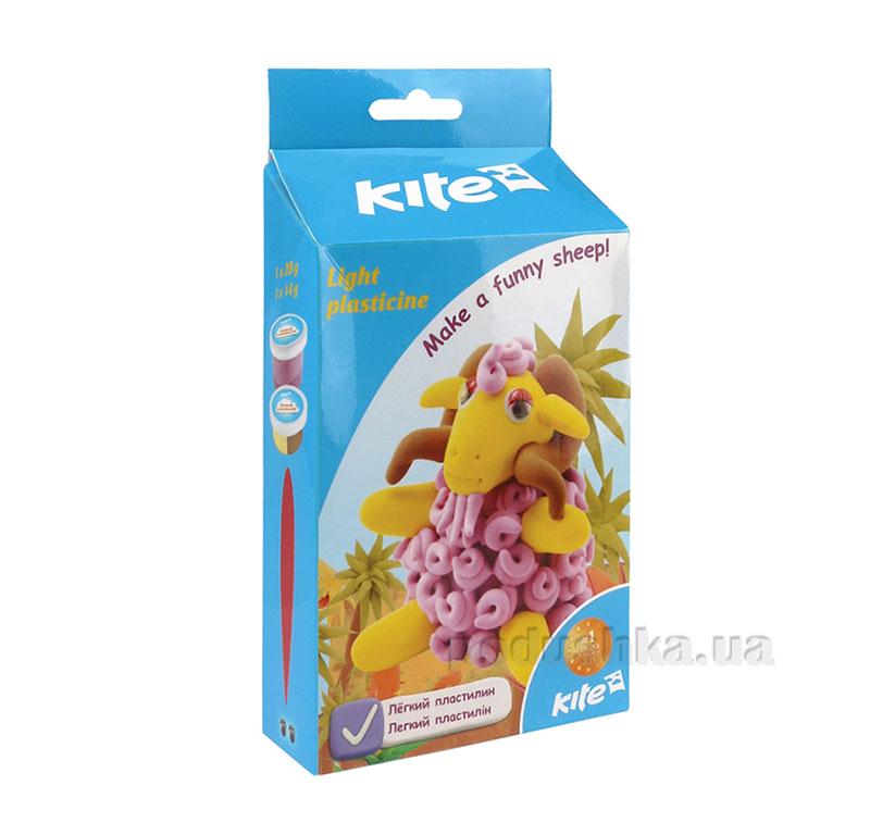Легкий пластилин Kite Овечка K15-278-1К