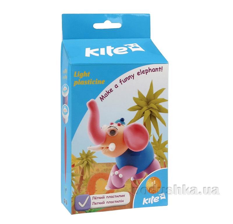 Легкий пластилин Kite Слон K15-278-2К